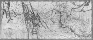 1814 Map of the Lewis and Clark Track Across the Western Portion of North America